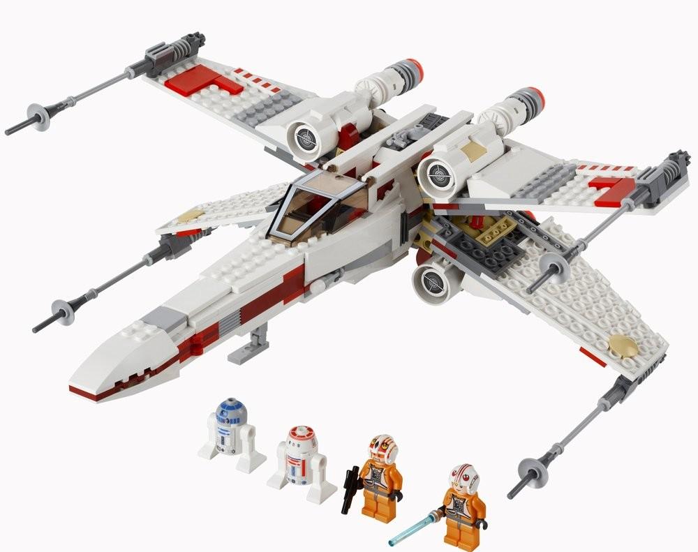 lego star wars x wing starfighter 9493 lego reviews videos. Black Bedroom Furniture Sets. Home Design Ideas