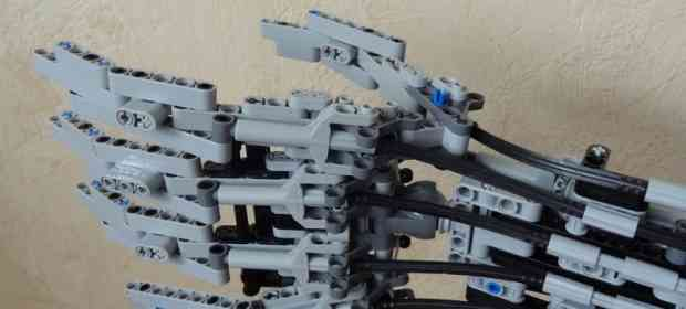 Terminator Arm with LEGO Technics