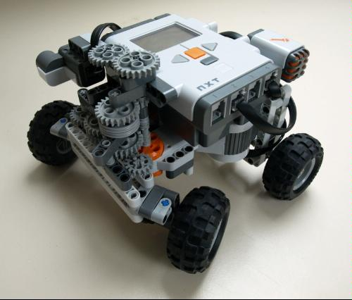 Self-parking car with LEGO Mindstorms - LEGO Reviews & Videos
