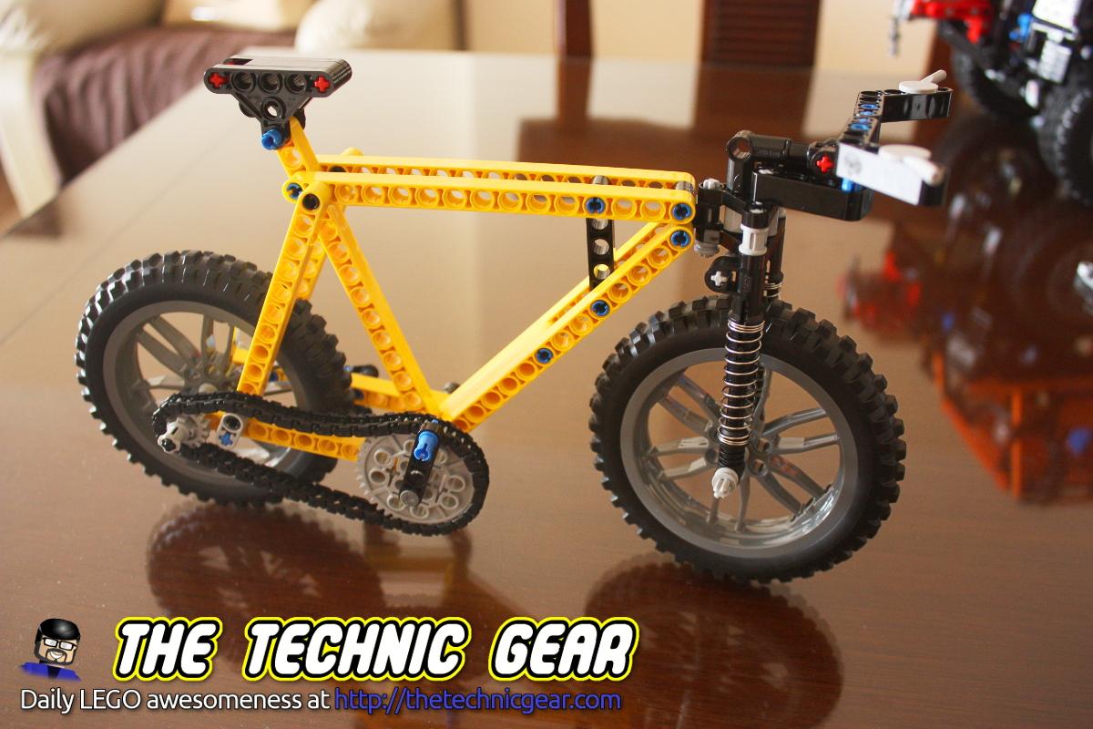 Moc Lego Technic Mountain Bike Lego Reviews Videos