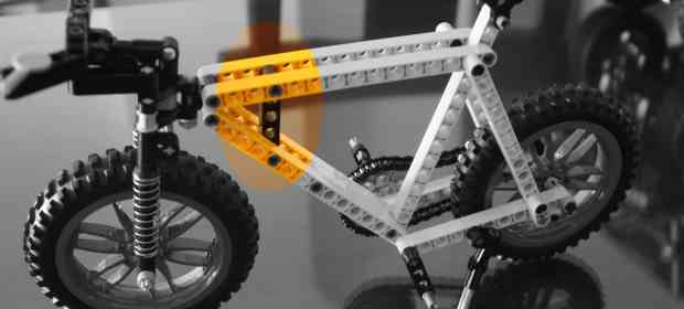 MOC LEGO Technic Mountain Bike