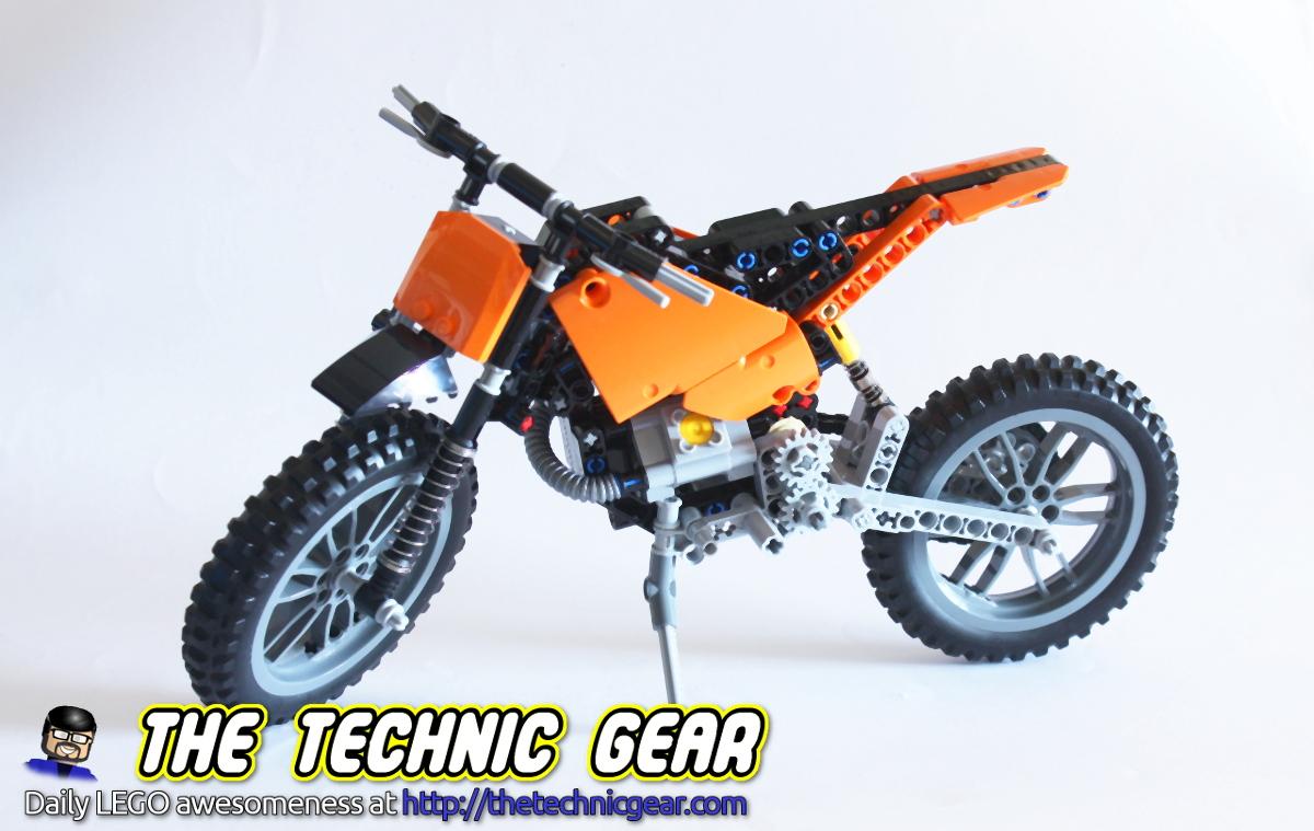 Lego 42007 moto cross bike review lego reviews amp videos