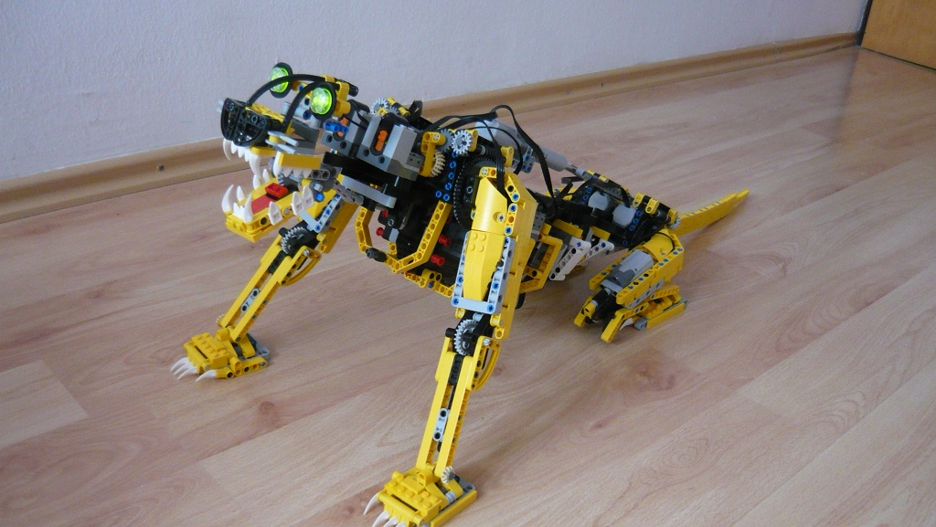 how to build a lego cheetah