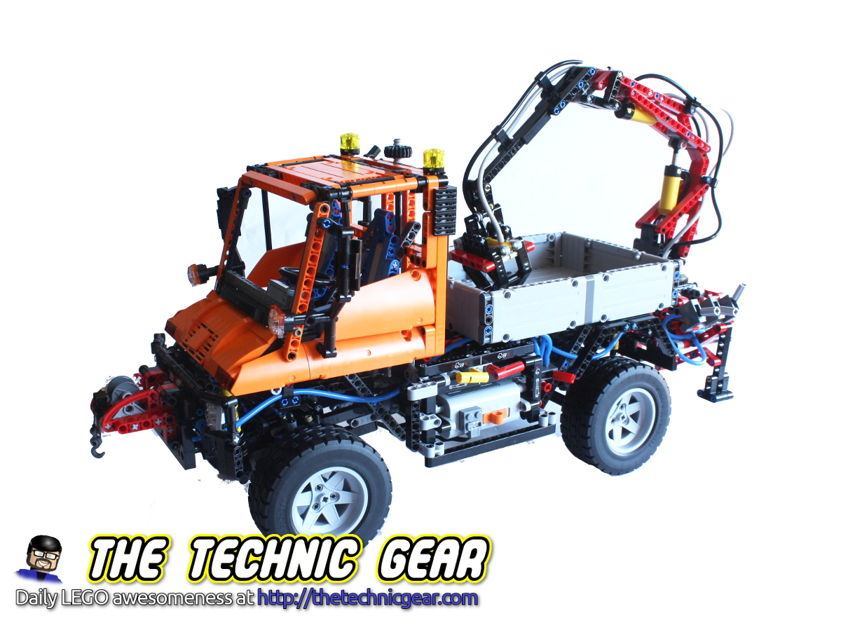 lego technic 8110 unimog review lego reviews videos. Black Bedroom Furniture Sets. Home Design Ideas