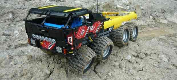 LEGO Tatra 8x8 Vehicle