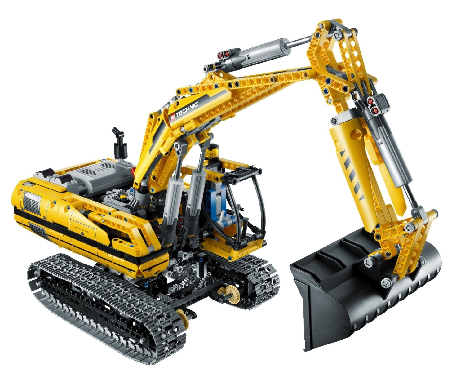 RC Bulldozer with motor