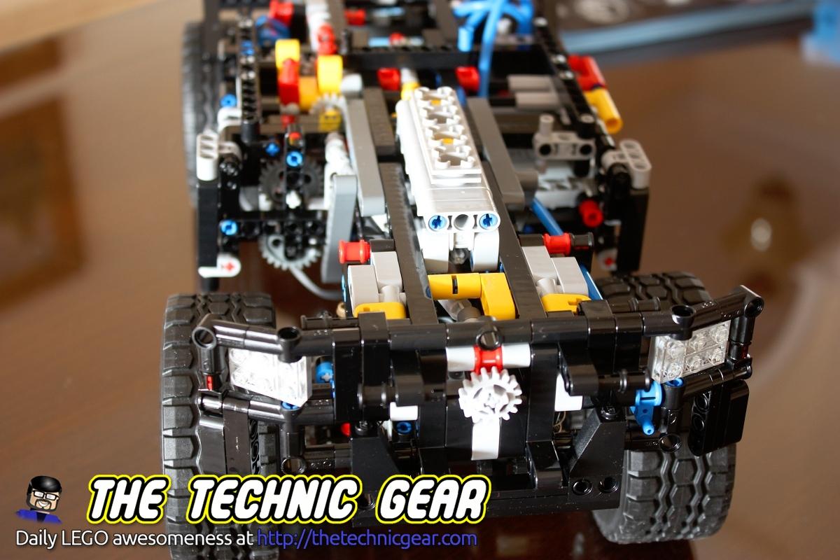 Lego Technic 8110 Unimog Review Lego Reviews Videos