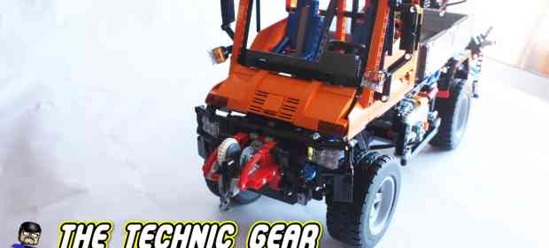 LEGO Technic 8110 Unimog Review