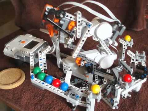 Lego Mindstorms Arm Sorting Color Balls Like A Pro Lego Reviews