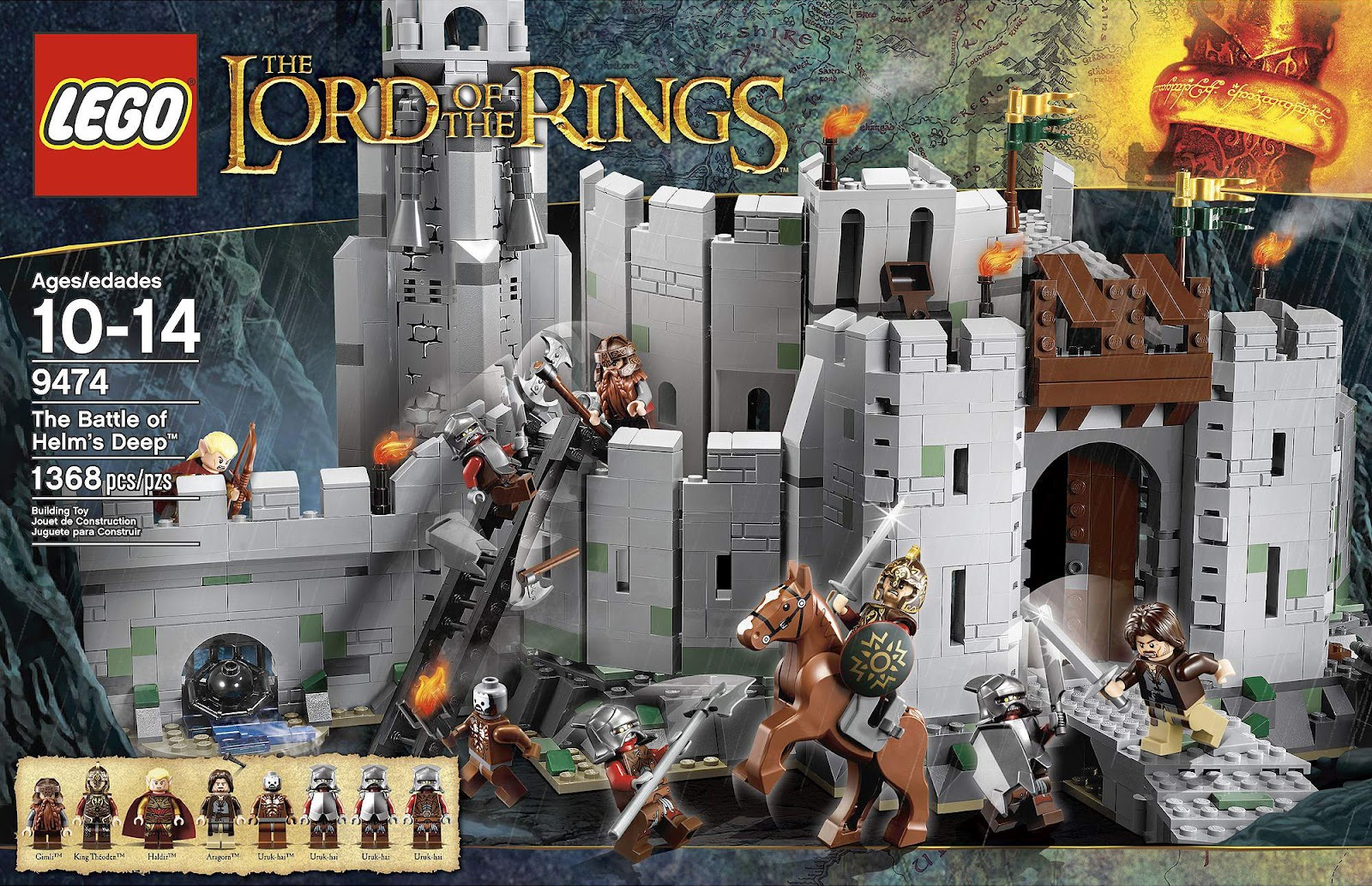 LEGO Lord of the Rings Helm's Deep Box