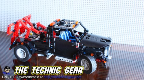 LEGO 9395 Pick-up Tow Truck