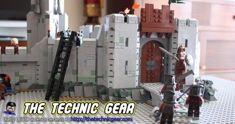 LEGO Lord of the Rings Helm's Deep Main Door