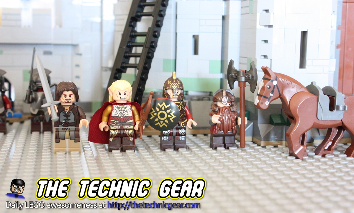 LEGO The Lord of the Rings Helm's Deep Minifigs