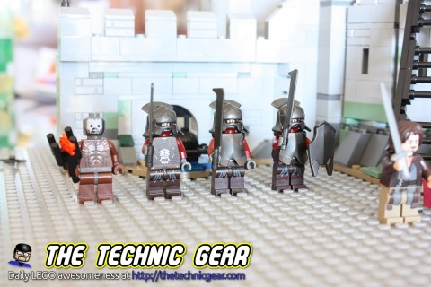 LEGO The Lord of the Rings Helm's Deep Uruk-Hai Army