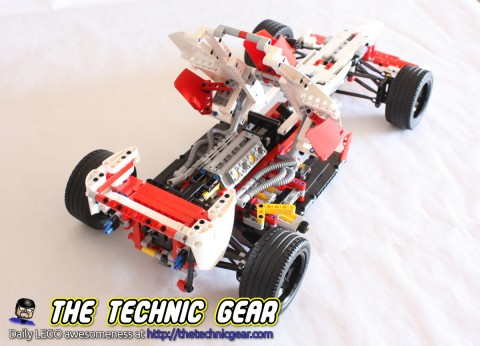 lego technic 42000 f1 grand prix racer review lego reviews videos. Black Bedroom Furniture Sets. Home Design Ideas