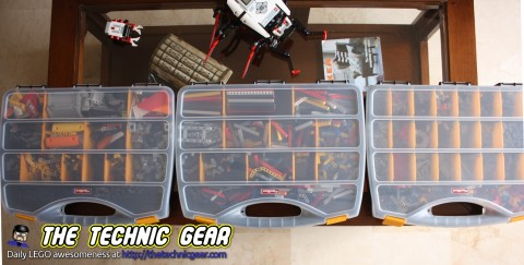 How to sort LEGO Technic bricks