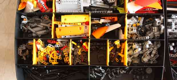 How To Sort your LEGO Technic Collection: The Easy Way