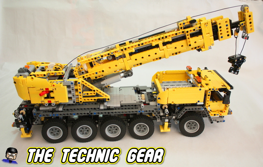 lego technic 42009 mobile crane mkii review lego reviews. Black Bedroom Furniture Sets. Home Design Ideas