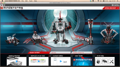 LEGO Mindstorms EV3 Software