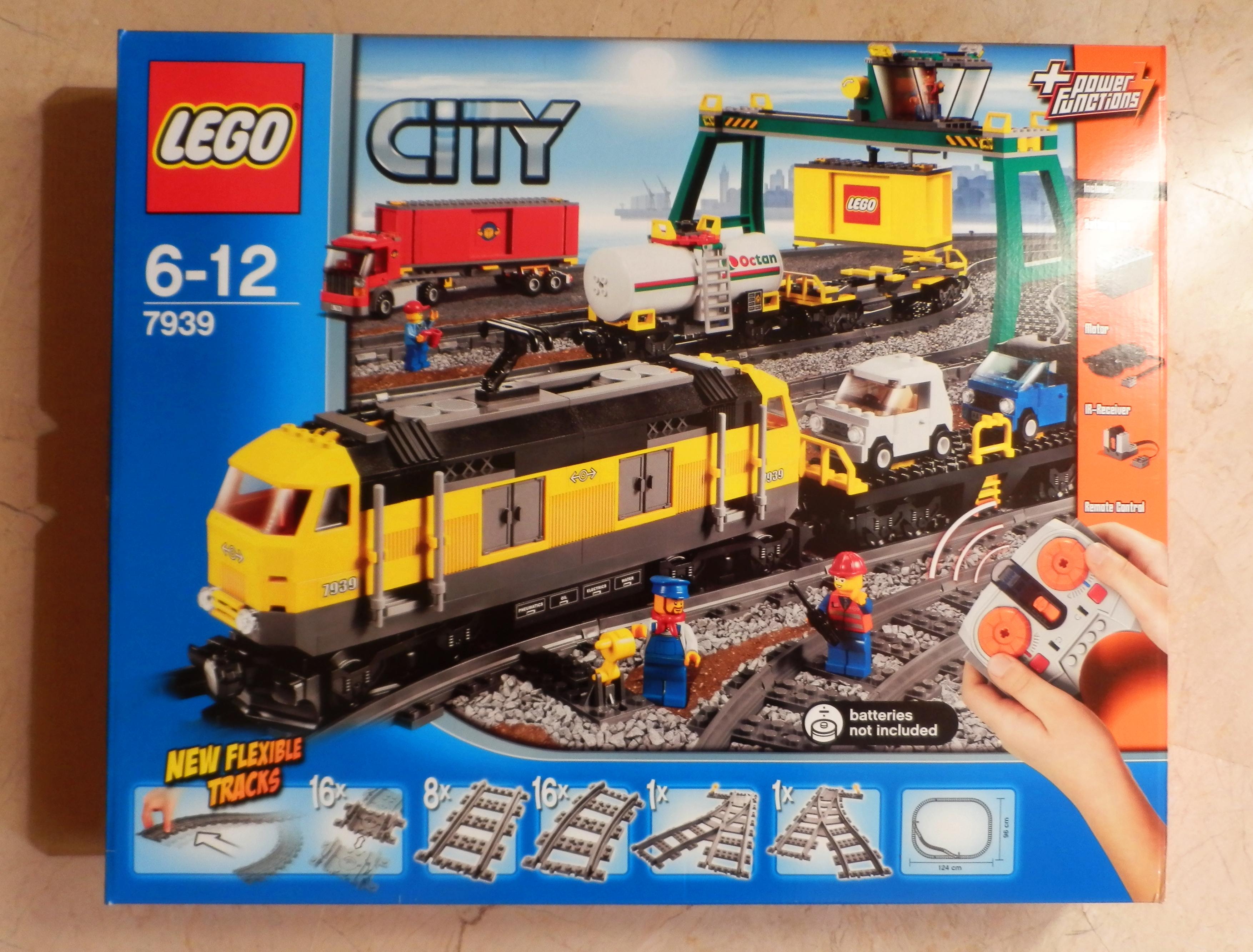 Lego 7939 Cargo Train Review Lego Reviews Videos