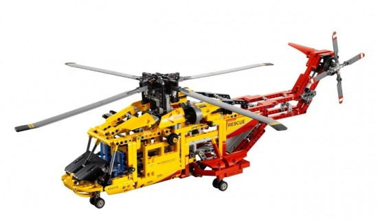 LEGO-Technic-9396-rescue-helicopter
