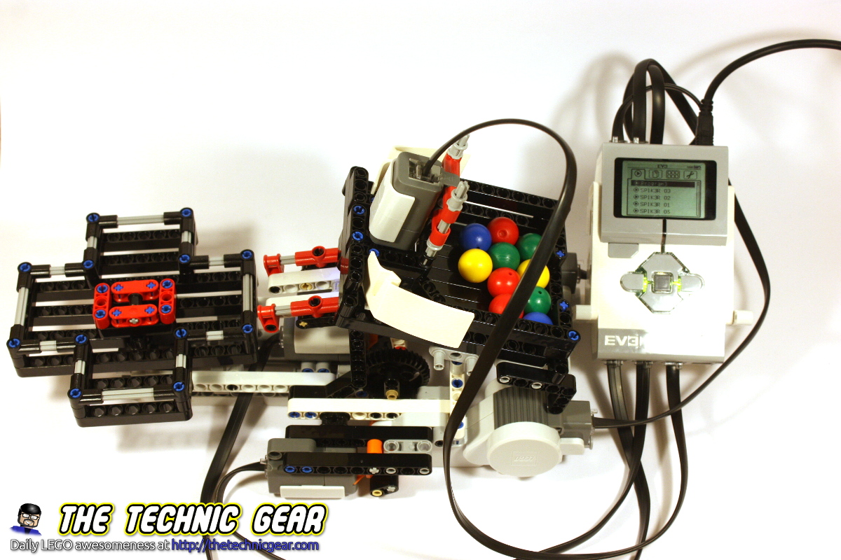 Mindstorms Ev3 Color Sorter Moc Lego Reviews Videos