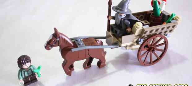 LEGO LOTR 9469 Gandalf arrives