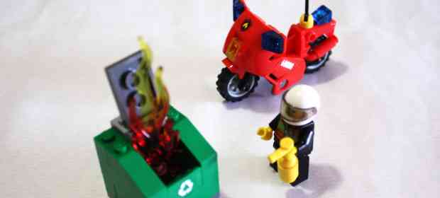 LEGO City 60000 Firefighter Motorcycle Review