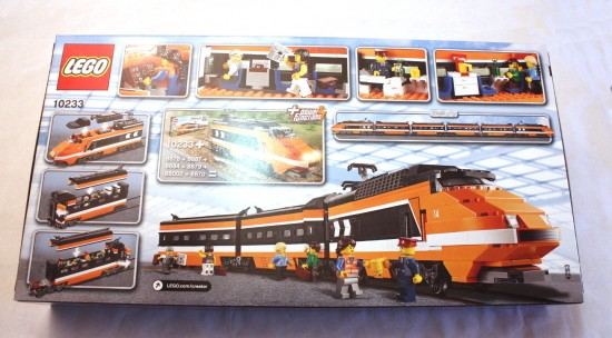 Lego horizon express instructions