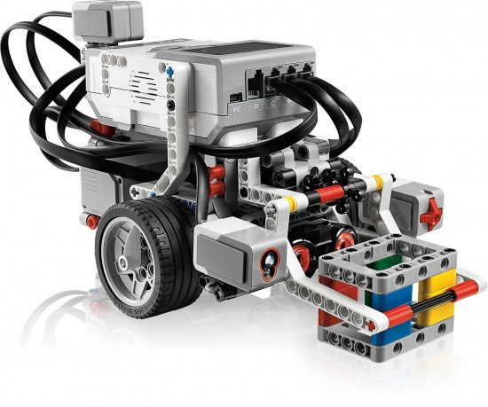 HOWTO create a Line Following Robot using Mindstorms - LEGO