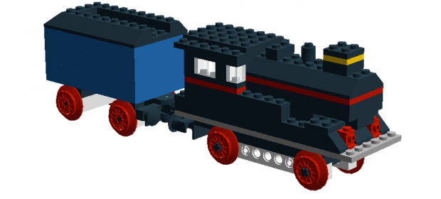 LEGO 117 Locomotive without Motor Review