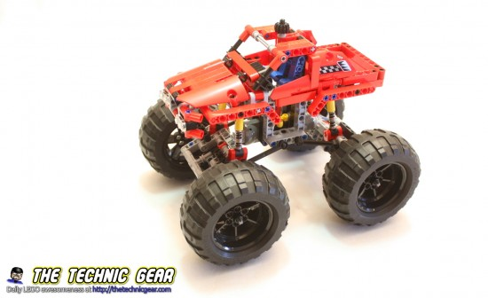 Lego Technic 42005 Monster Truck Review Lego Reviews Videos
