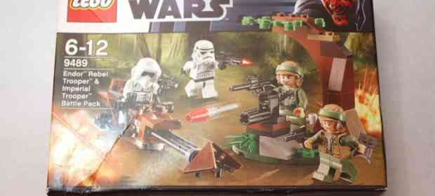 LEGO 9489 Endor and Imperial Troopers Battle Pack Review