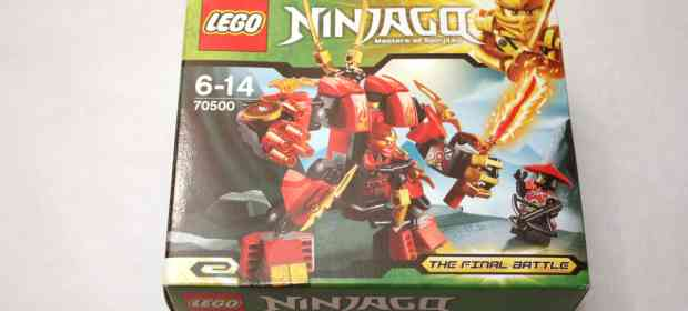 LEGO Ninjago 70500 Kai's Fire Mech Review