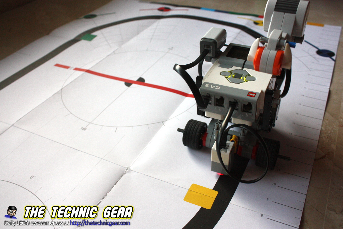 Camera Lego Nxt : Howto create a line following robot using mindstorms lego