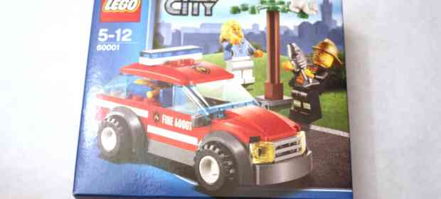 LEGO 60001 Fire Chief Car Review