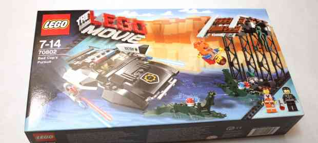 The LEGO Movie Bad 70802 Cop's Pursuit Review
