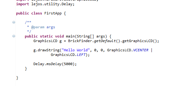 HOWTO Install leJOS 0.8.1 on LEGO Mindstorms EV3