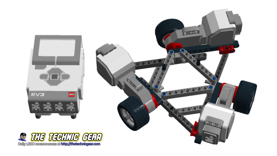 HOWTO Build your own 3-Wheels Holonomic Robot using LEGO - LEGO ...