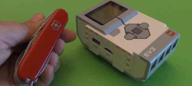 HOWTO Remove MicroSD off EV3 Brick