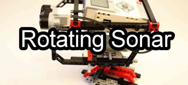 Rotatory Mindstorms EV3 Sonar