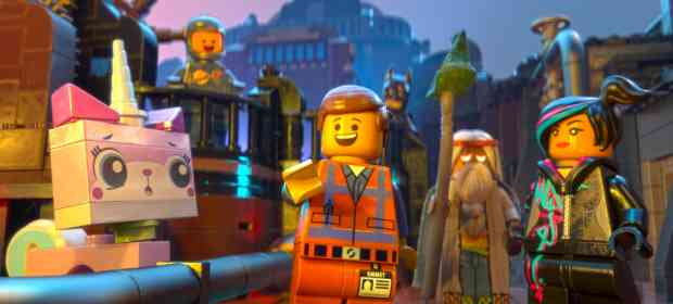 The Best Sets of The LEGO Movie