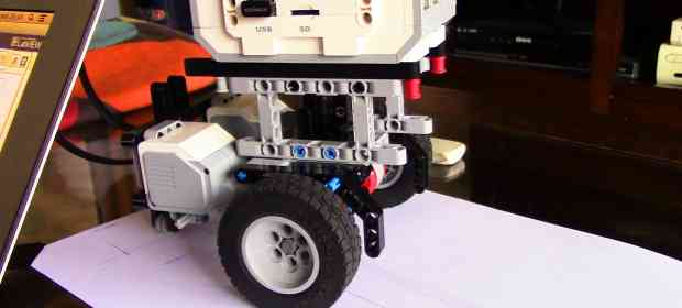 Draw a Square: Using Motors in leJOS EV3