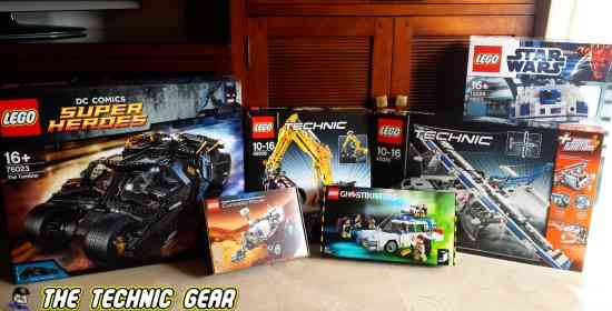 Back to LEGO Building & Reviewing
