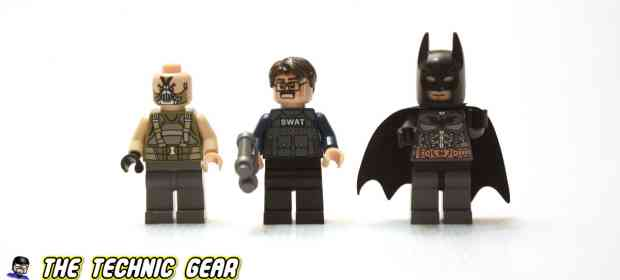 LEGO 76001 The Bat vs Bane: Tumbler Chase Review