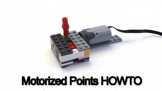 LEGO Train PF Points Motorized Switch
