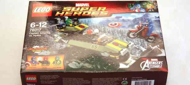 LEGO Avengers: Captain America vs Hydra Review