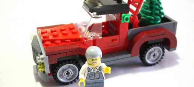 LEGO 40083 Christmas Tree Truck Review