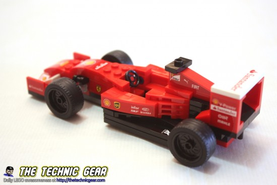 lego 75913 ferrari f14 t scuderia ferrari truck review. Black Bedroom Furniture Sets. Home Design Ideas