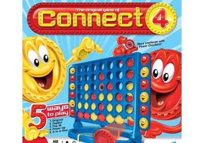 LEGO Bot playing Connect 4